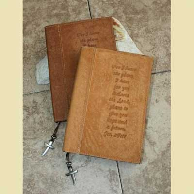 Leather Journal – Jeremiah 29:11