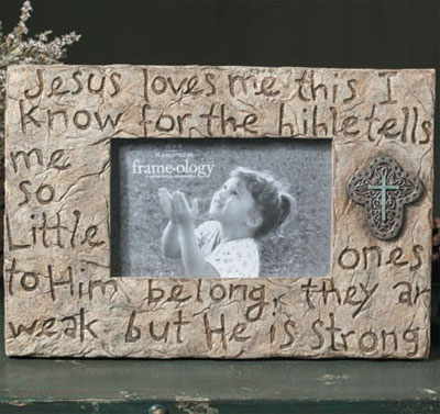 Jesus Loves Me Frame
