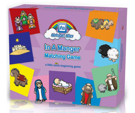 In a Manger Matching Game