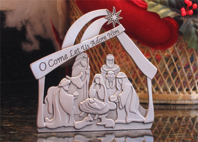 Nativity Standing Plaque – Small