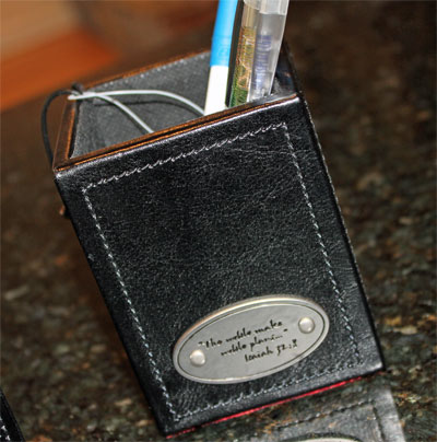 Pencil Holder with Scripture
