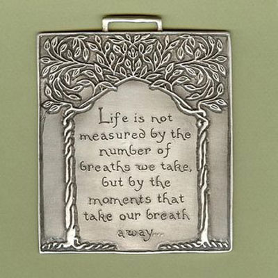 Special Moments Wall Ornament by Cynthia Webb